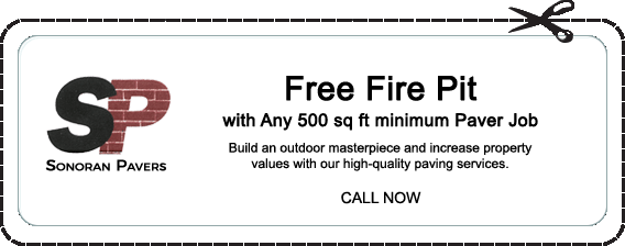 Free Firepit with any 500 sq ft minimum Paver Job